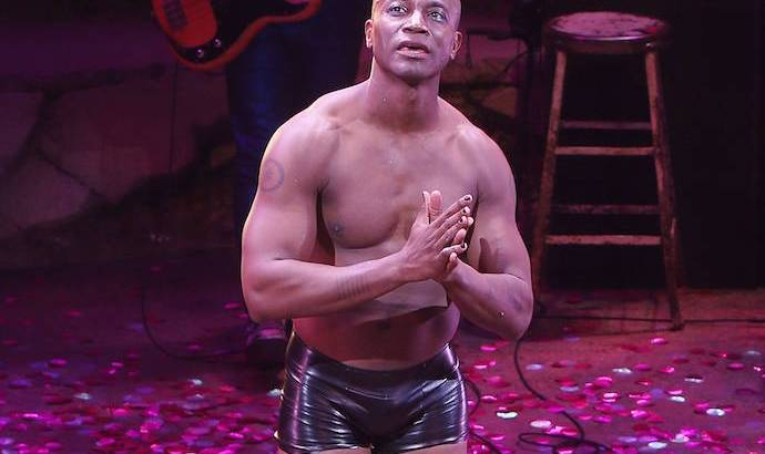 Taye Diggs first night on Broadway in Hedwig and the Angry Inch at the Belasco Theatre | Photo by Joseph Marzullo/WENN.com