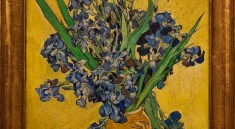 """Irises"" (1890) by Vincent van Gogh (Dutch, Zundert 1853–1890 Auvers-sur-Oise)"