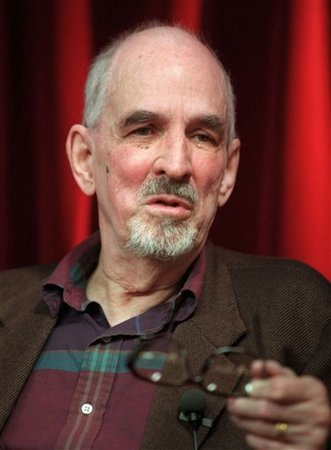 Swedish film director Ingmar Bergman is seen talking during a press conference in Stockholm in this May 9, 1998 file photo where he presented his latest TV-project