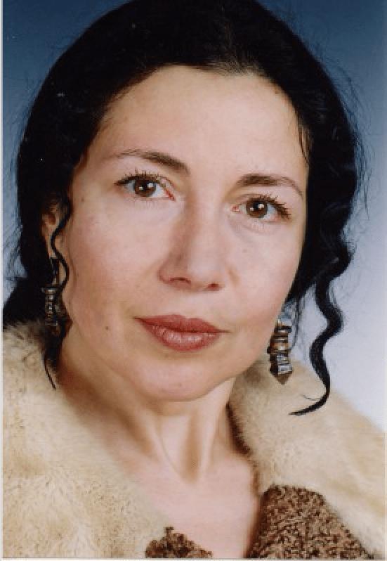 Bulgarian author/actor Maya Kisyova