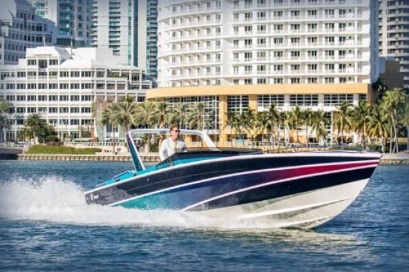 Miami Vice Fast Boat (PRNewsFoto/Miami Vice Boat Show)