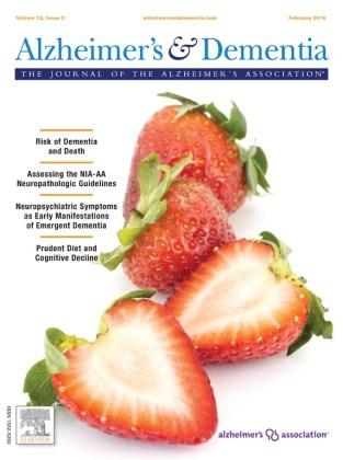 Alzheimer's & Dementia: The Journal of the Alzheimer's Association.