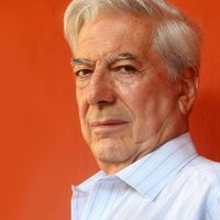 Peruvian novelist and politician Margo Vargas Llosa