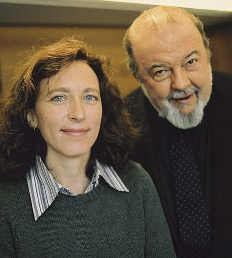 Sir Peter Hall and protégée Lara Foot