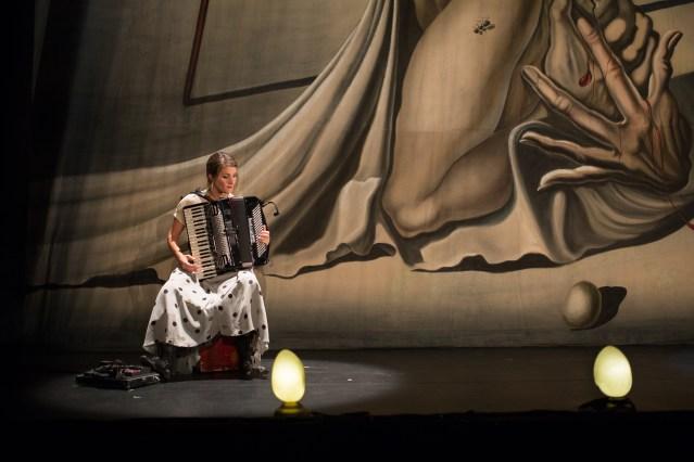 "Andrée-Anne Gingras-Roy in ""La Verita"" | Photo Credit: Max Gordon"