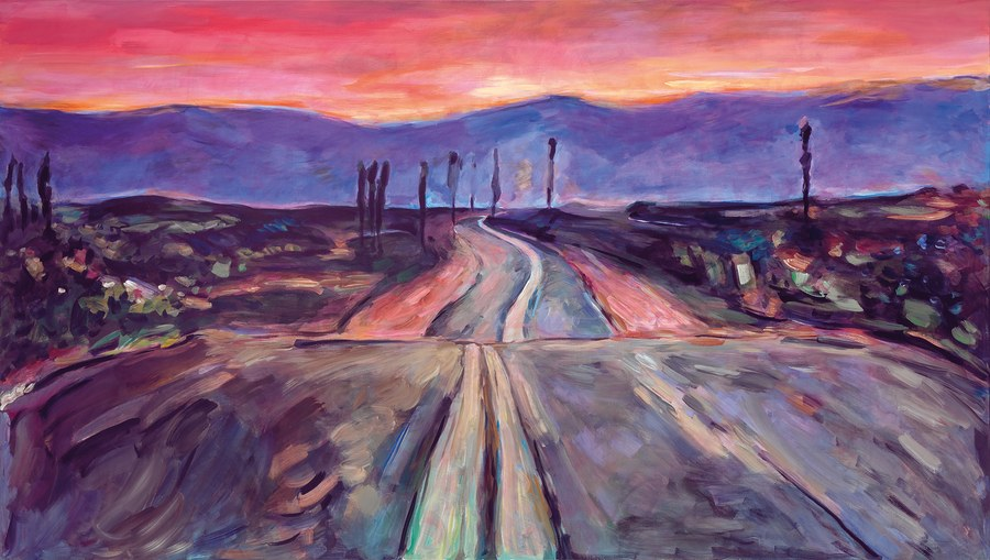 """From Bob Dylan's London exhibit """"The Beaten Path""""   Courtesy of the artist"""