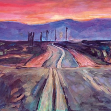"""From Bob Dylan's London exhibit """"The Beaten Path"""" 