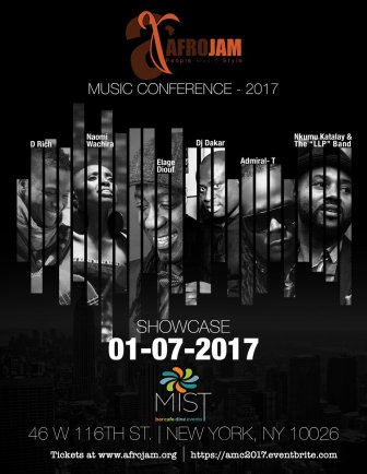 Kick of your #APAPNYC music conference at #AMC2017 Showcase with @elagediouf @AdmiralT971 @Isaackatalay Tickets http://amc2017.eventbrite.com