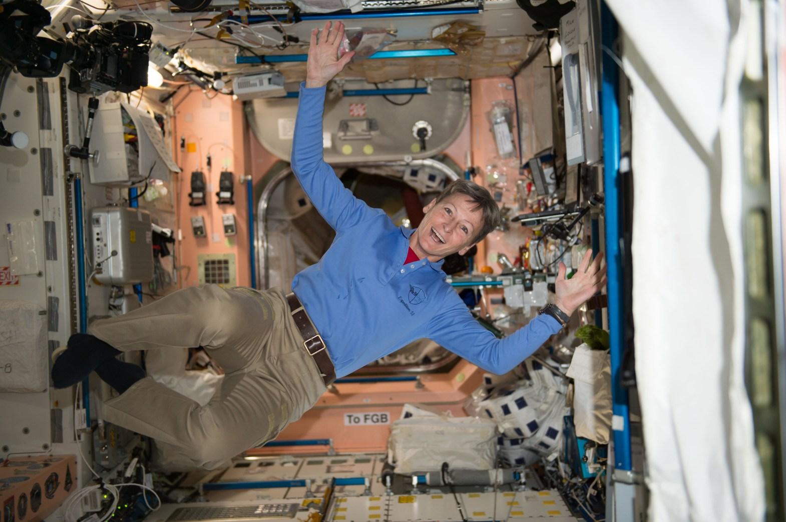 NASA astronaut Peggy Whitson