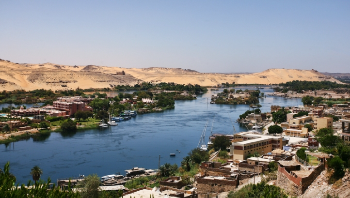The River Nile in Egypt