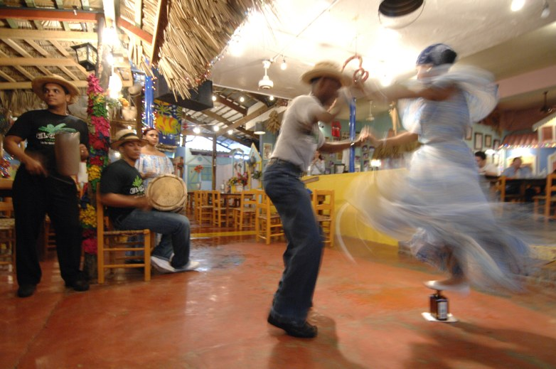 Dancing in Dominican Republic