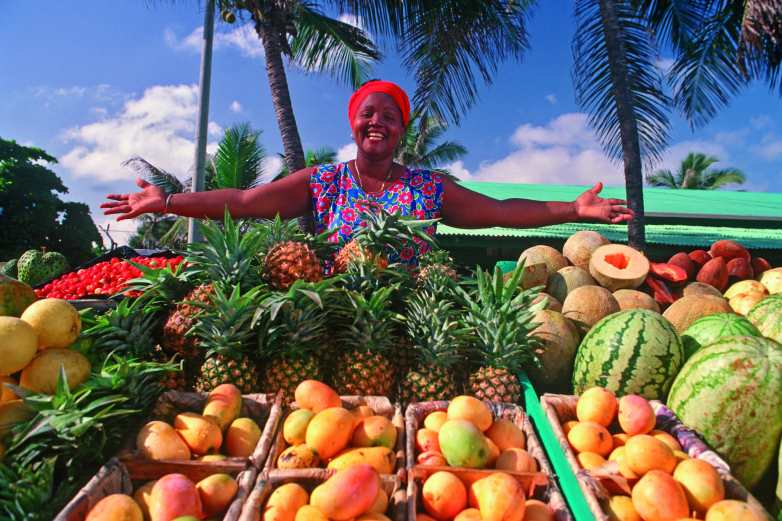 Fruit Stand in Dominican Republic