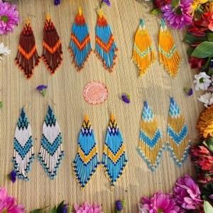 Waterfall of Colors Earrings