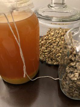 Corn: Vinegar, Koji and Hamma Natto