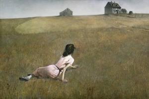 Paysage de Andrew Wyeth