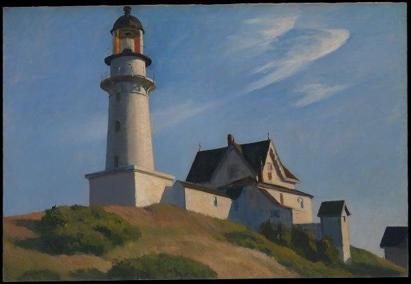 Le phare de Portland Head par Hopper
