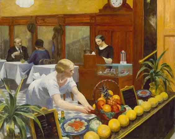 Tables for Ladies - Edward Hopper témoins des changements sociaux