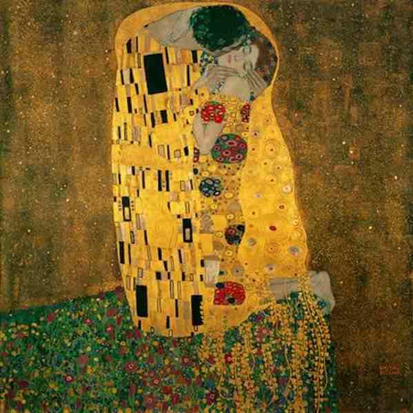 Le Baiser, portrait de Gustav Klimt