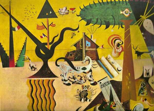La Terre labourée, l'imaginaire de Miró
