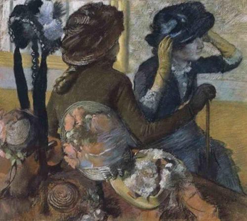 La modiste par Edgar Degas