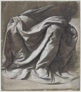Léonard de Vinci Draperie