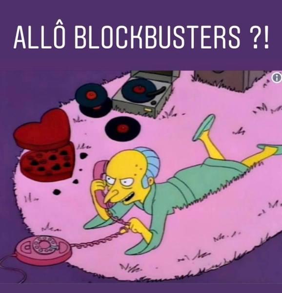 Blockbusters détournement