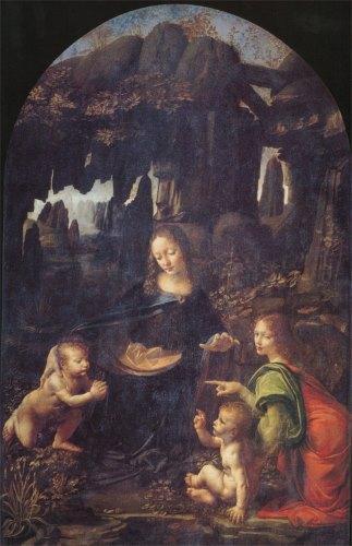 Vierge de L de Vinci
