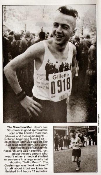 Joe strummer marathon