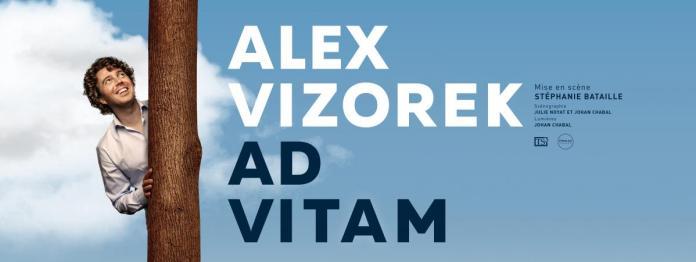 Affiche Ad Vitam Alex Vizorek