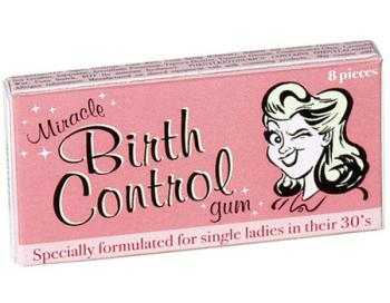 Miracle Birth Control Gum
