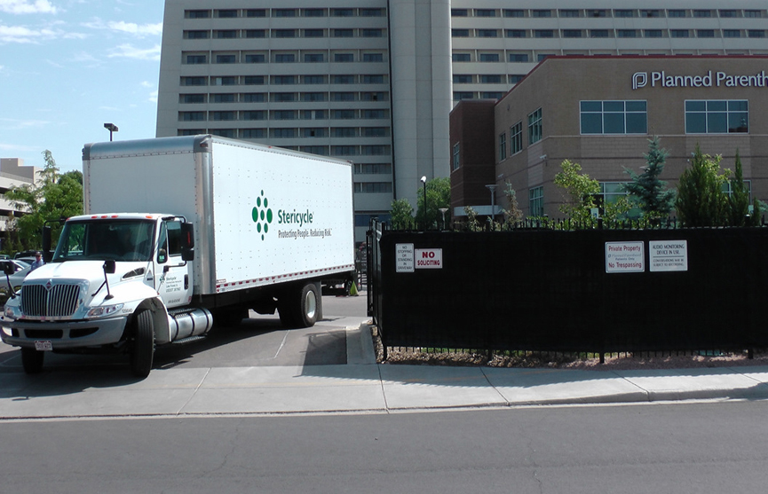 Stericycle Truck