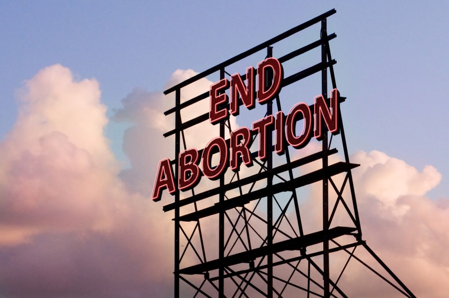 End Abortion Neon Sign