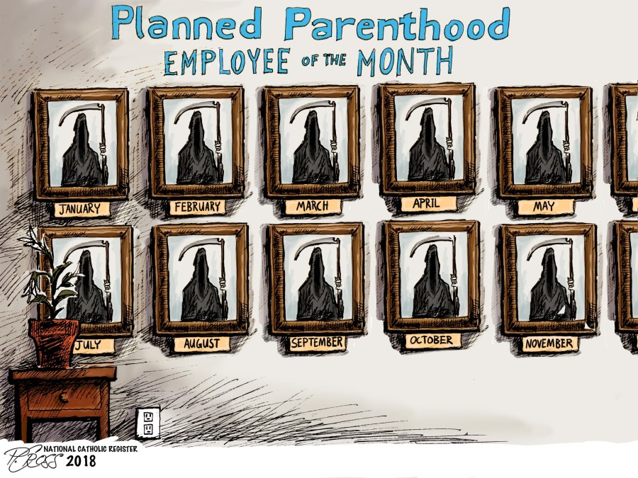 Planned Parenthood Employee of the Month