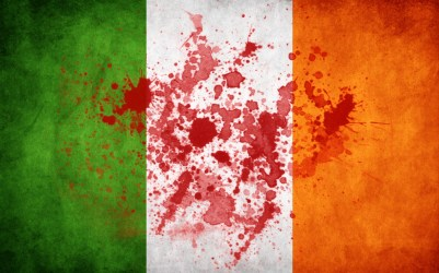 Irish Flag Blood