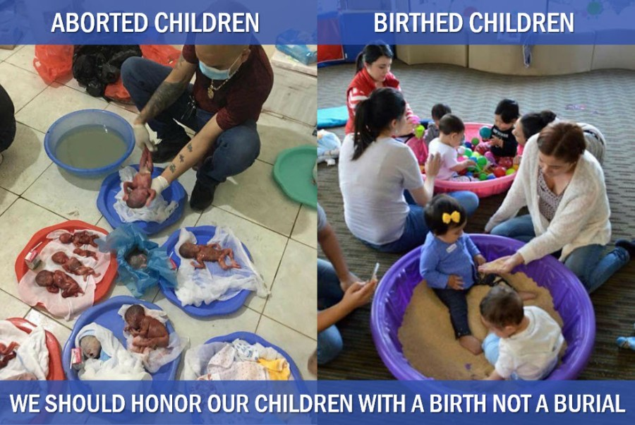 Abortion Compared to Birth