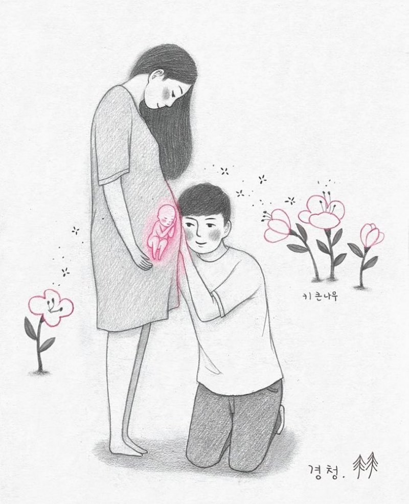 Korean Pregnancy Art
