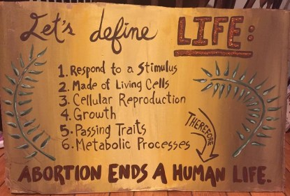 Pro-Life Signs