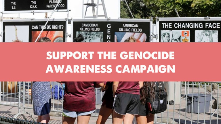 Genocide Awareness Campaign