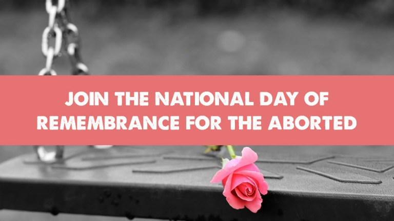 National Day of Remembrance for Aborted Children
