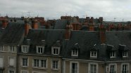 Rooftops in Chambord, France