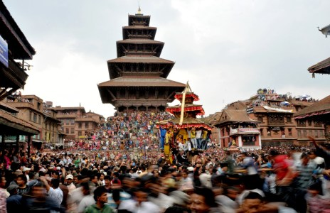 first-day-of-Bisket-Jatra