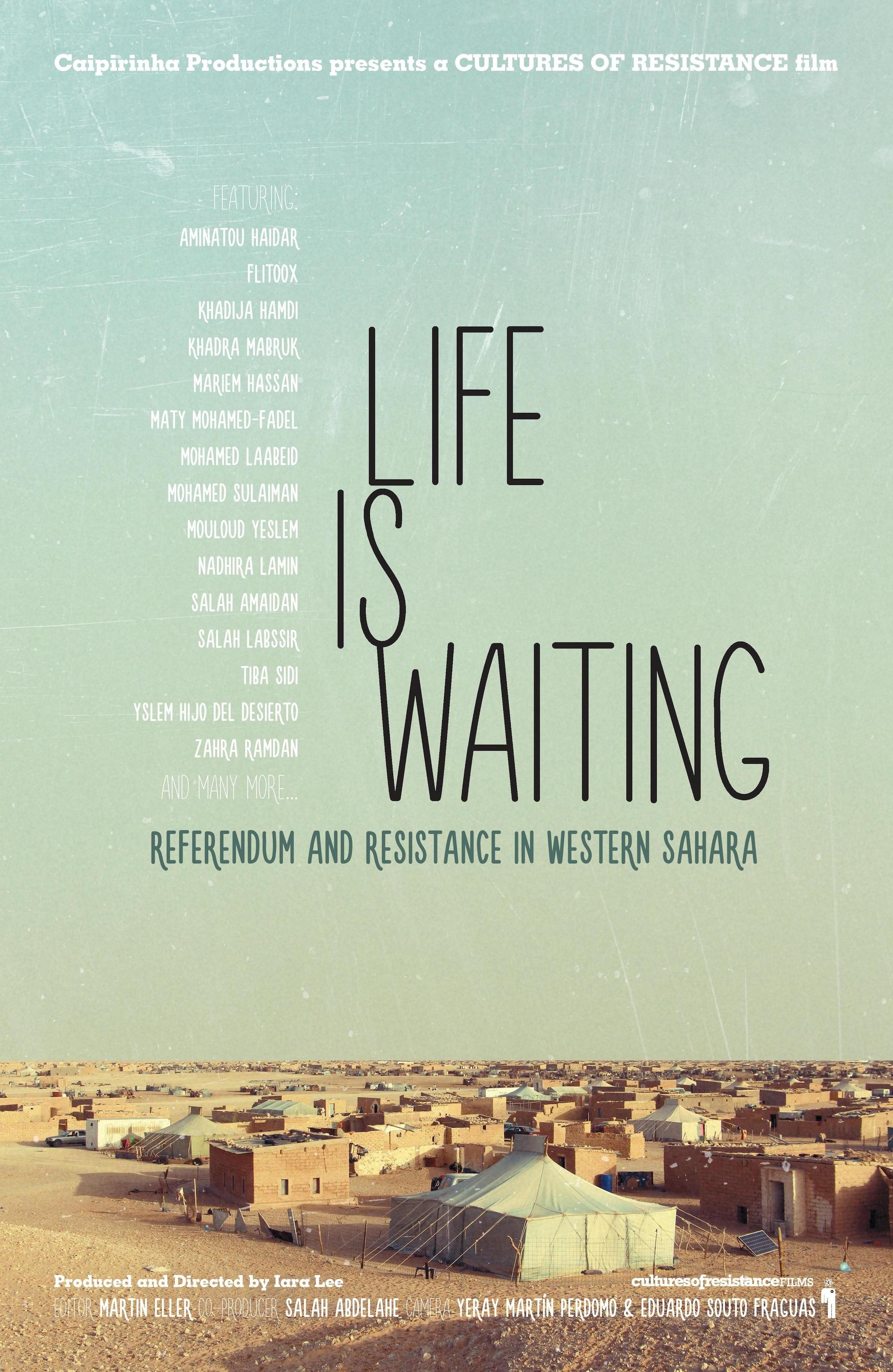 """Resultado de imagen para """"La vida en espera"""" documental sahara"""