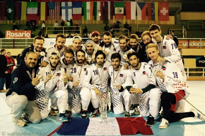 Culture Sport équipe de France de roller hockey 2015