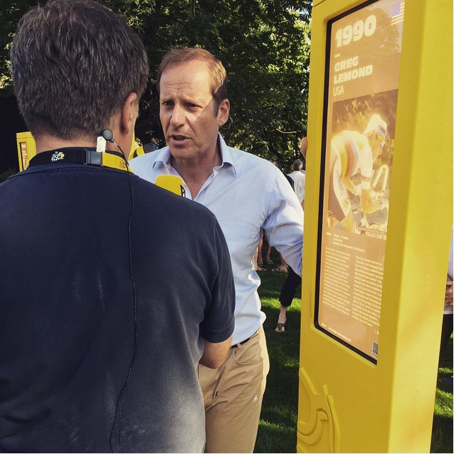 Culture Sport Christian Prudhomme Tour de France 2015