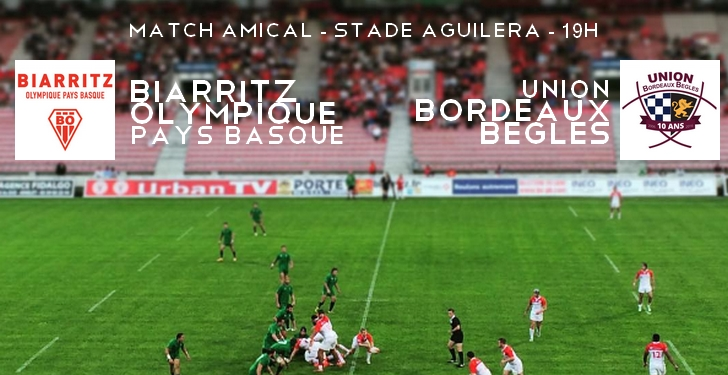 cultureSPORT Biarritz Olympique Pays Basque - Union Bordeaux Bègles