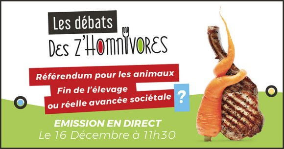 Référendum pour les animaux : Attention danger (Les Z'Homnivores)