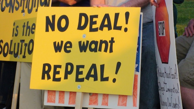 It's Time To Wake Up And Smell The Sell Out On Repeal And Replace!
