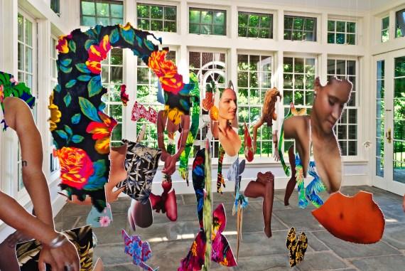 #dominicanwomengooglesearch (dwgs) Wave Hill installation photos by Stefan Hagen(2)