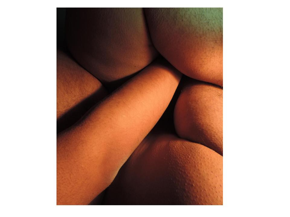 Photograph with ambiguous body forms