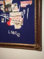 """J-M Basquiat, """"Lobo, 1986"""